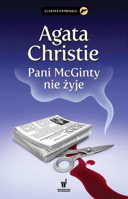 okładka Pani McGinty nie żyje, Książka | Agata Christie