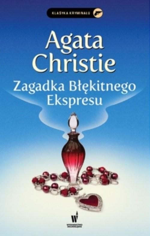 okładka Zagadka błękitnego ekspresu, Książka | Agata Christie