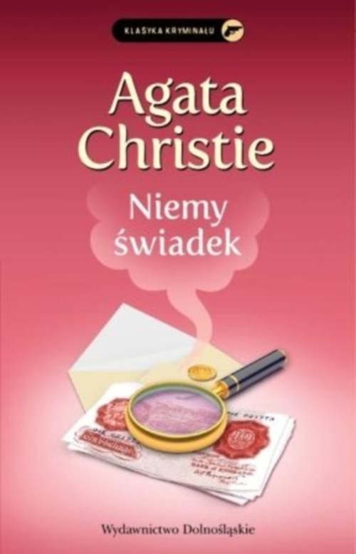 okładka Niemy świadek, Książka   Christie Agata