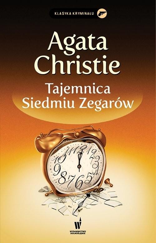 okładka Tajemnica Siedmiu Zegarówksiążka      Christie Agata