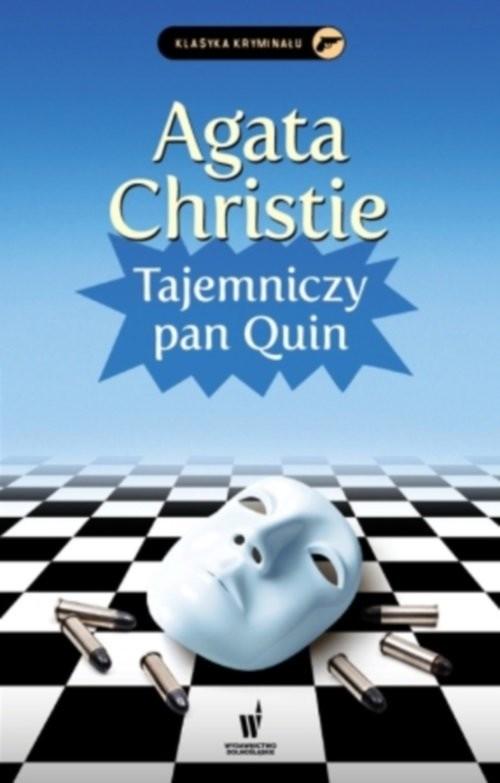 okładka Tajemniczy pan Quin, Książka | Agata Christie
