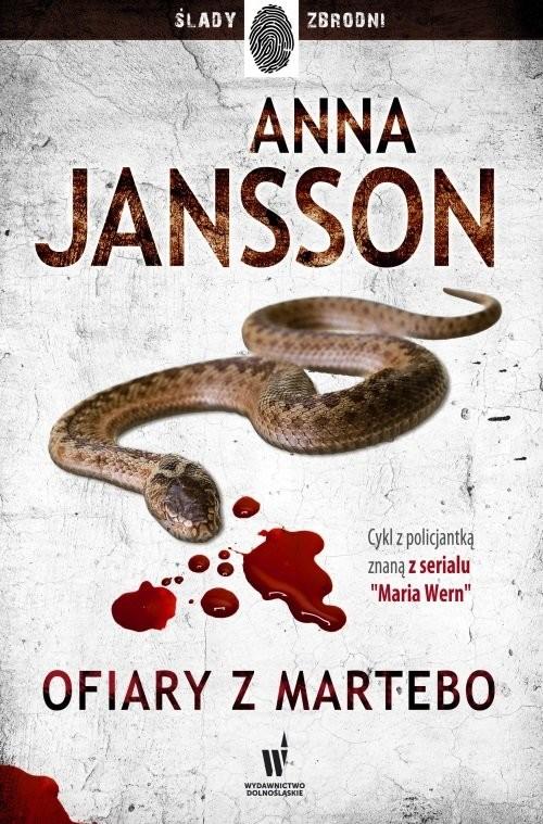 okładka Ofiary z Martebo, Książka | Anna Jansson