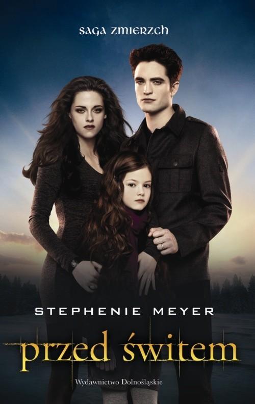 okładka Przed świtem okładka filmowa 2, Książka | Stephenie Meyer