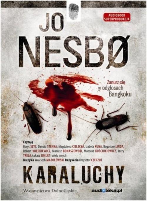 okładka Karaluchy, Książka | Jo Nesbø