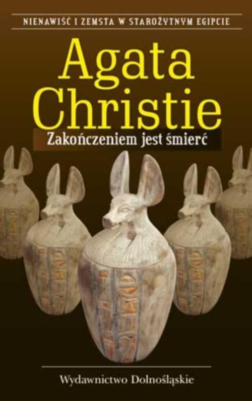 okładka Zakończeniem jest śmierćksiążka      Agata Christie