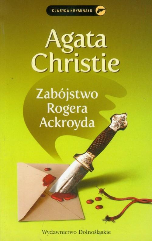 okładka Zabójstwo Rogera Ackroyda, Książka   Agata Christie