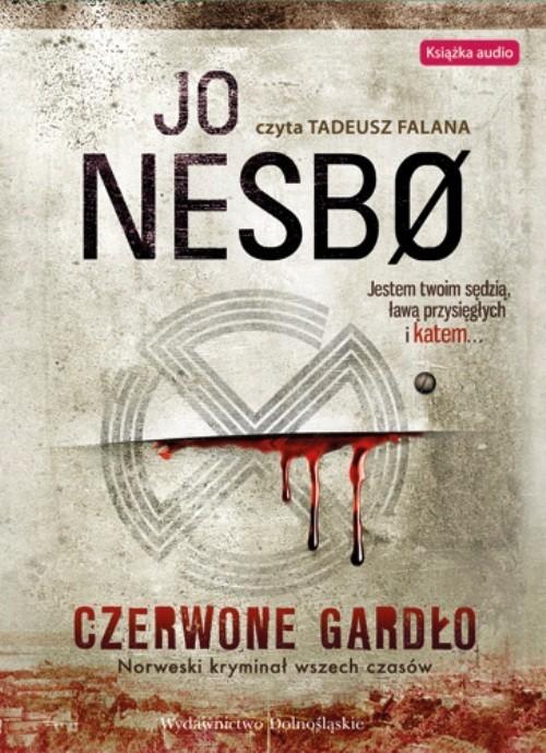 okładka Czerwone gardło, Książka   Nesbo Jo