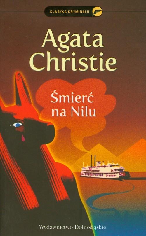 okładka Śmierć na Nilu, Książka | Agatha Christie