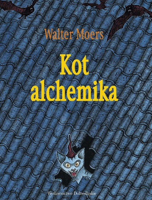 okładka Kot alchemika, Książka   Moers Walter