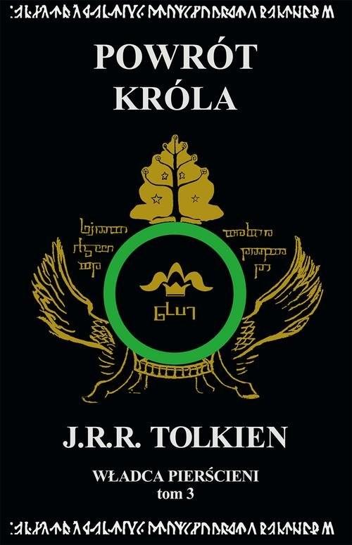 okładka Władca Pierścieni Tom 3: Powrót króla, Książka | J.R.R.  Tolkien