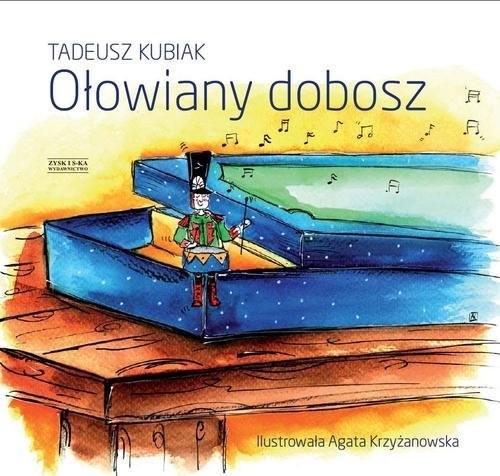 okładka Ołowiany dobosz, Książka | Tadeusz Kubiak