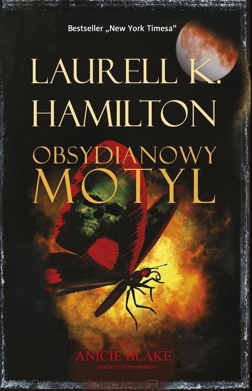 okładka Obsydianowy motyl, Książka | Laurell K. Hamilton