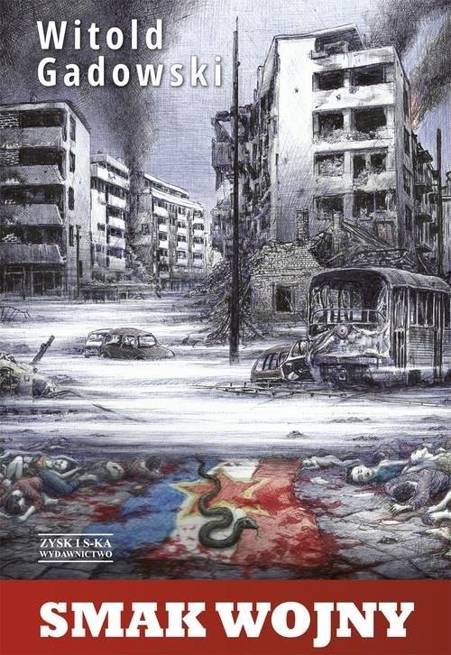 okładka Smak wojny, Książka | Gadowski Witold