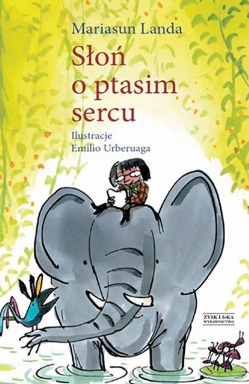 okładka Słoń o ptasim sercu, Książka | Landa Mariasun