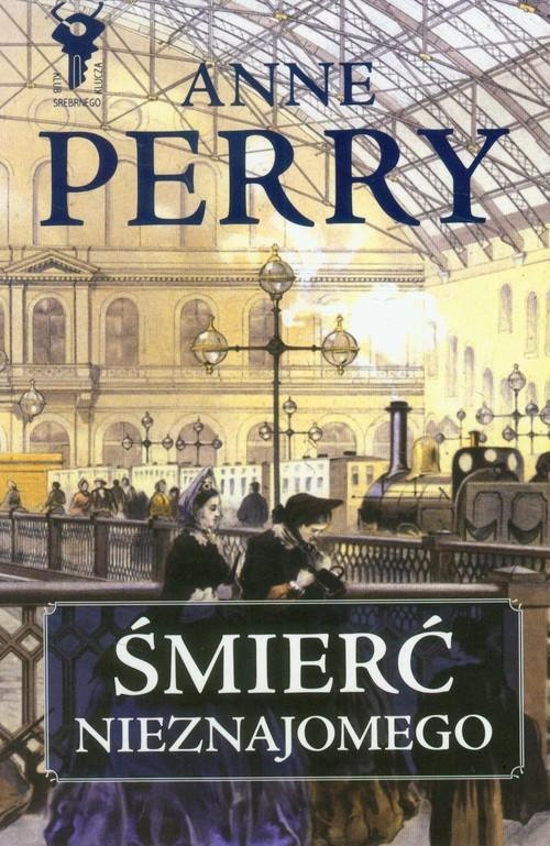 okładka Śmierć nieznajomego, Książka | Perry Anne