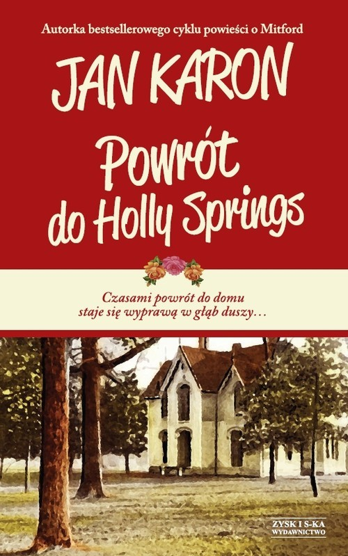 okładka Powrót do Holly Springs, Książka | Jan Karon