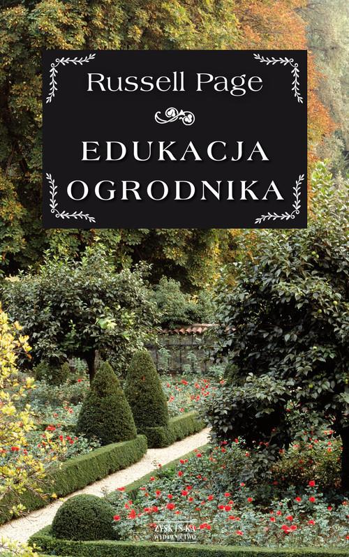 okładka Edukacja ogrodnika, Książka   Page Russell