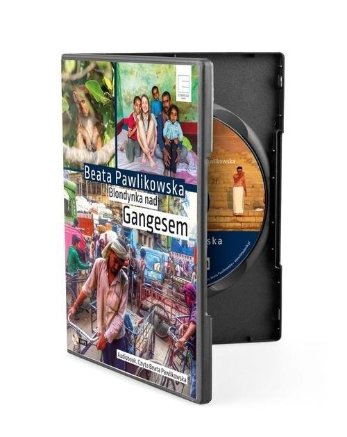 okładka Blondynka nad Gangesem, Książka | Beata Pawlikowska