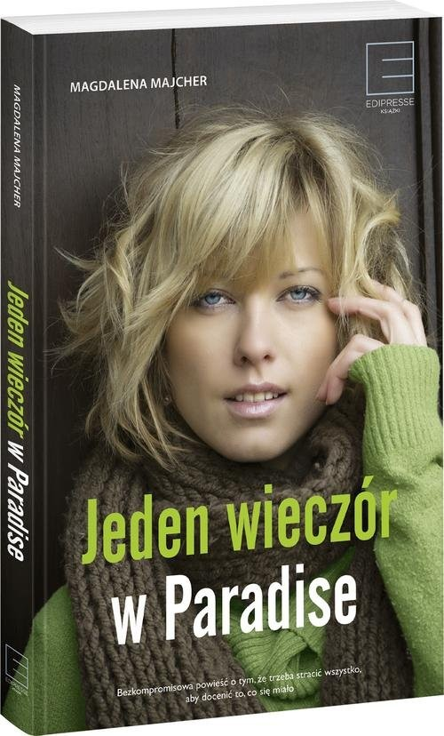 okładka Jeden wieczór w Paradise, Książka | Majcher Magdalena
