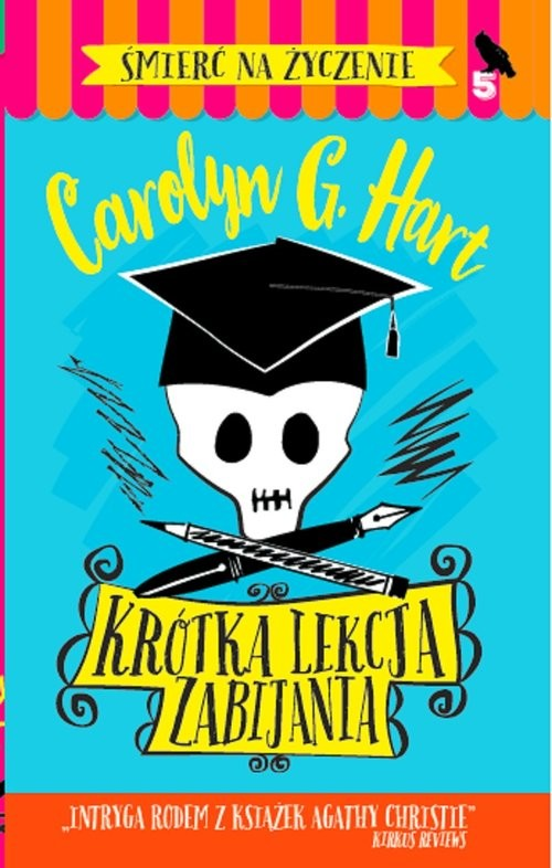 okładka Krótka lekcja zabijania, Książka | Carolyn G. Hart