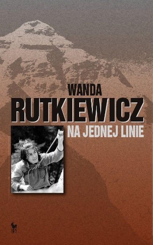 okładka Na jednej linie, Książka | Rutkiewicz Wanda