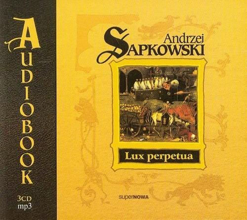 okładka Lux perpetuaksiążka      Sapkowski Andrzej