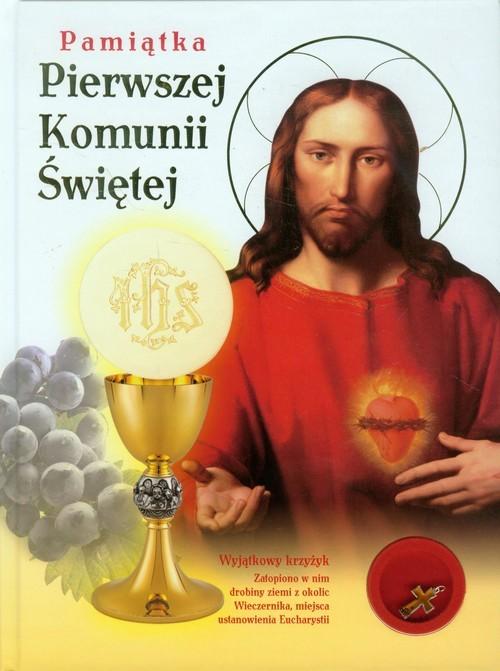 okładka Pamiątka Pierwszej Komunii z krzyżykiem, Książka  