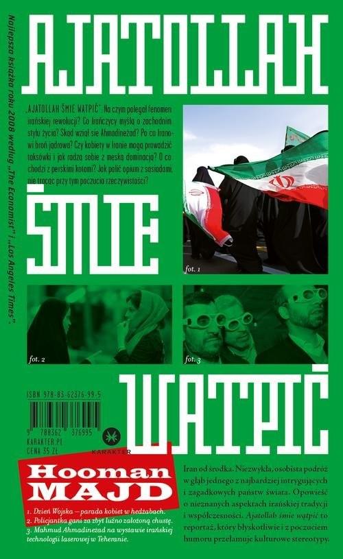 okładka Ajatollah śmie wątpićksiążka |  | Majd Hooman