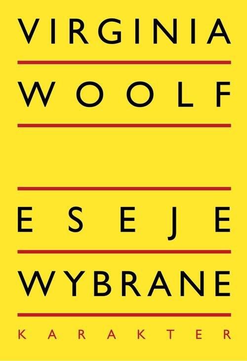 okładka Eseje wybrane, Książka | Virginia Woolf