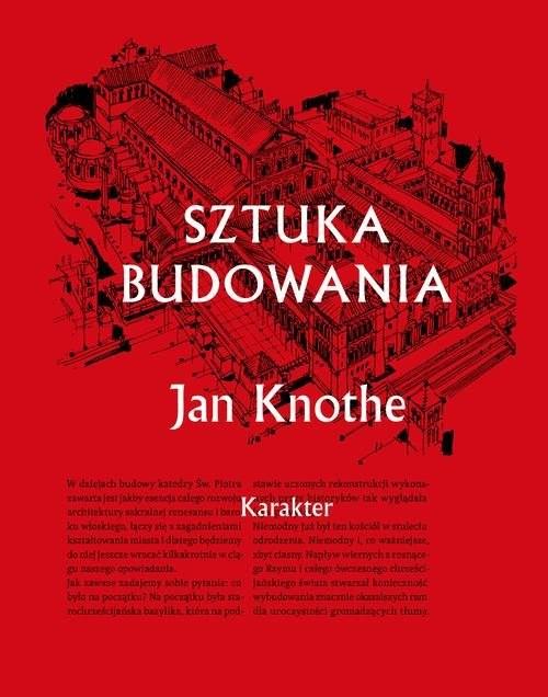 okładka Sztuka budowania, Książka | Knothe Jan