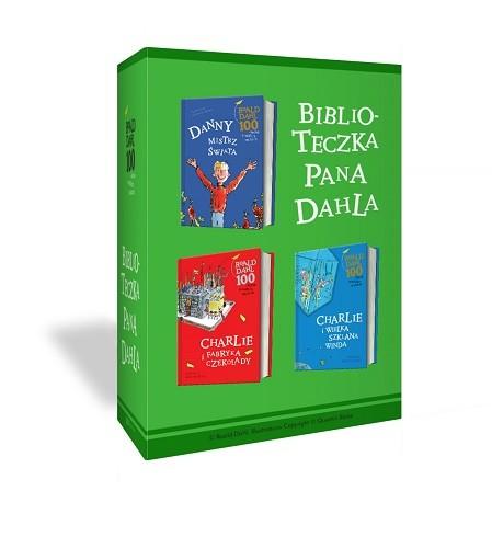 okładka Charlie i fabryka czekolady + Charlie i wielka szklana winda + Danny, mistrz świata - pakiet, Książka | Dahl Roald