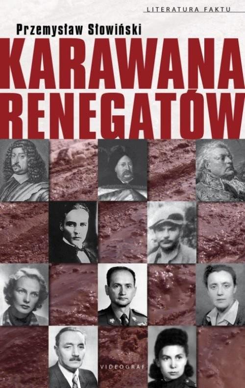 okładka Karawana renegatów, Książka | Przemysław Słowiński