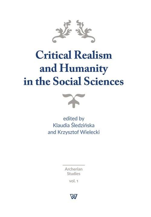 okładka Critical Realism and Humanity in the Social Sciences, Książka |