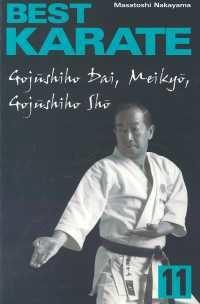 okładka Best Karate 11, Książka   Nakayama Masatoshi