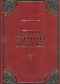 okładka Kubuś Fatalista i jego pan, Książka | Diderot Denis