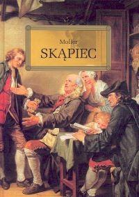 okładka Skąpiec, Książka | Molier