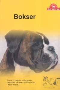 okładka Bokser, Książka   Over Dieren