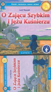 okładka O Zającu Szybkim i Jeżu Kuśnierzu, Książka | Tkaczyk Lech