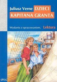 okładka Dzieci kapitana Granta Wydanie z opracowaniem, Książka | Verne Juliusz