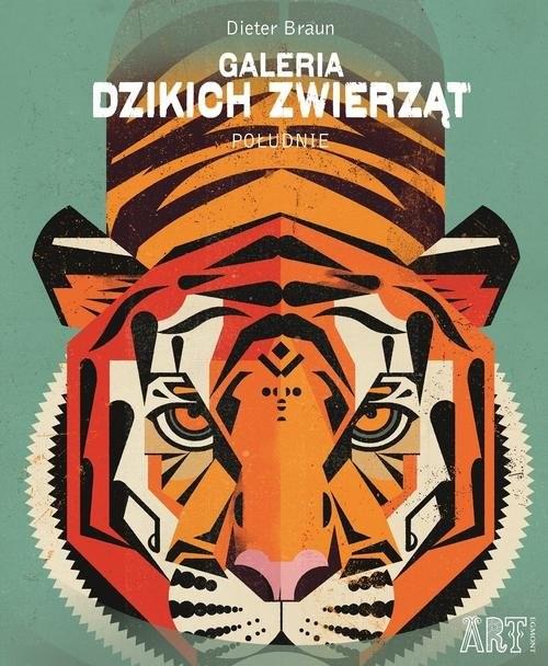 okładka Galeria dzikich zwierząt Południeksiążka      Braun Dieter