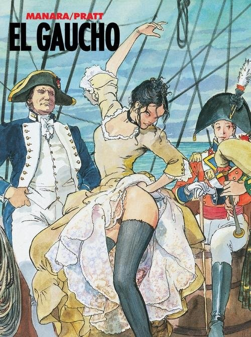 okładka El Gaucho, Książka | Pratt Hugo