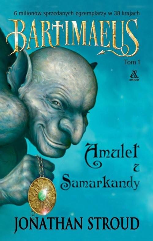 okładka Amulet z Samarkandy, Książka | Jonathan Stroud