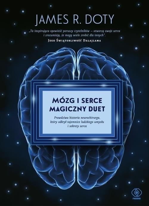 okładka Mózg i serce magiczny duetksiążka      James R. Doty
