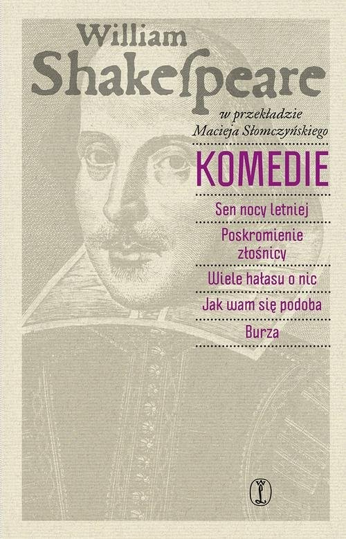 okładka Komedie, Książka | Shakespeare William