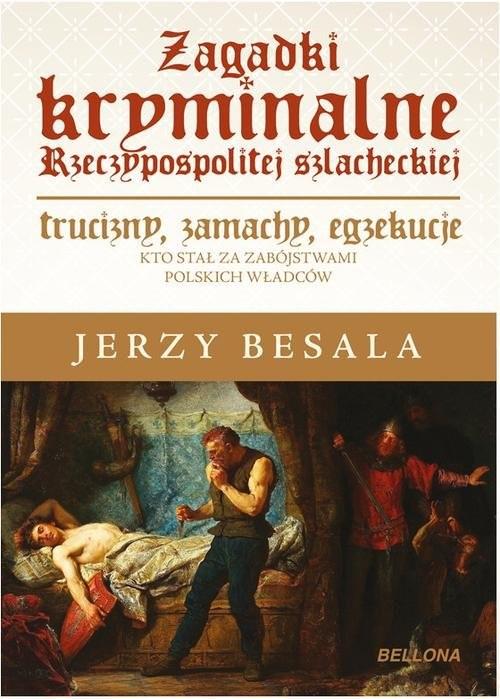 okładka Zagadki kryminalne Rzeczypospolitej szlacheckiejksiążka |  | Jerzy Besala