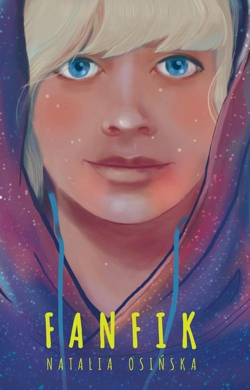 okładka Fanfik, Książka | Osińska Natalia