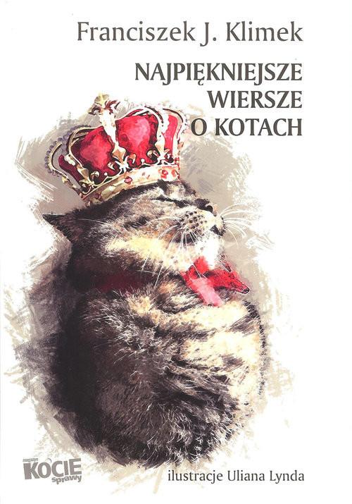 okładka Najpiękniejsze wiersze o kotach, Książka | franciszek J. Klimek