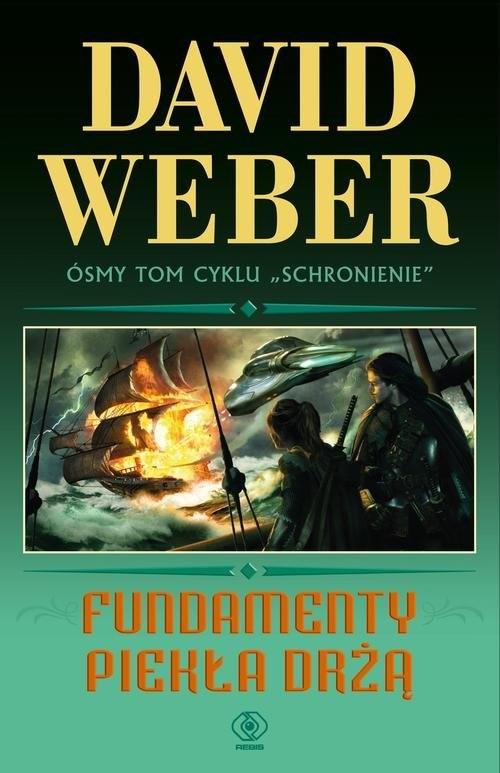 okładka Fundamenty piekła drżą, Książka | David Weber