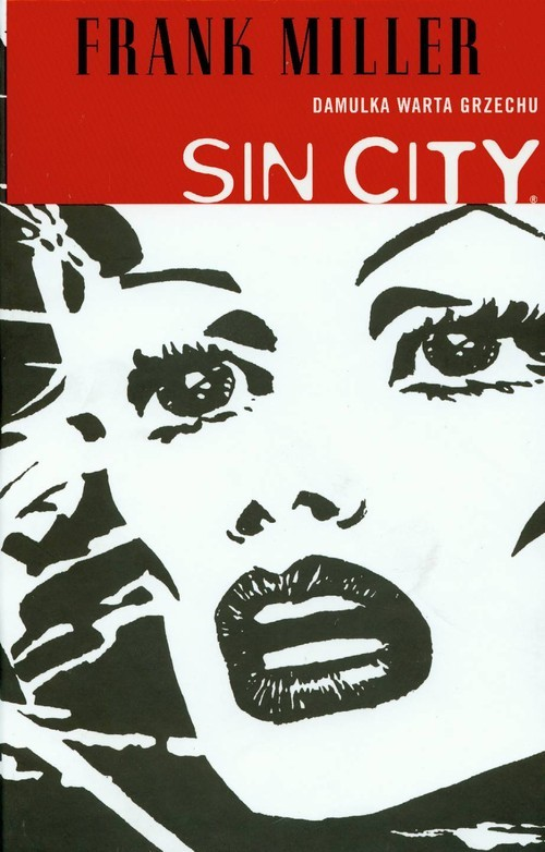 okładka Sin City Damulka warta grzechu Tom 2, Książka | Miller Frank
