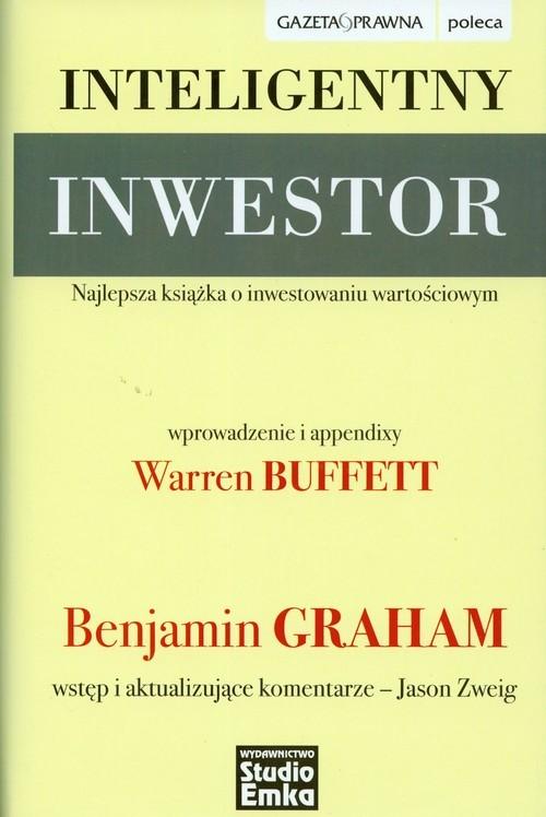 okładka Inteligentny inwestor, Książka | Benjamin Graham